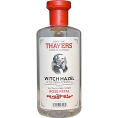 Thayers Alcohol-Free Rose Petal Witch Hazel Toner with Aloe Vera will make your skin bloom. Thayers remarkably soothing Rose Petal Toner is made with rose water, filet of aloe vera, and our proprietary Witch Hazel extract. Best Toner For Acne, Toner For Face, Best Facial Toner, Skin Toner, Thayers Witch Hazel, Witch Hazel Toner, Diy Skin Care, Skin Care Tips, Organic Skin Care