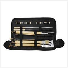 ' 10 Piece Barbecue Set' is going up for auction at  1pm Thu, Jun 13 with a starting bid of $10.