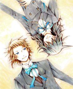 Pandora Hearts - Leo Baskerville (リーオ = バスカヴィル) & Elliot Nightray (エリオット = ナイトレイ)