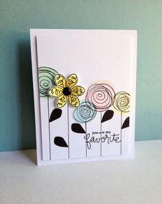 Simon Says Stamp June Card Kit...Three Ways to Use a Leaf!