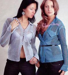 Jaqueta Crochet