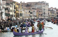 Carnavales de Venecia 2011: color, misterio y aires de fiesta en la Ciudad de los Canales