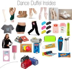 """""""Dance Duffel"""" by lexybenner ❤ liked on Polyvore"""