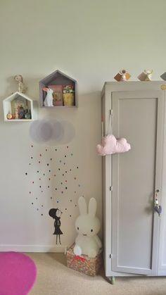 dét Dia: Inspiration til børneværelset # 1