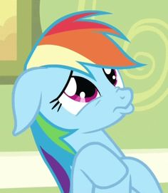funny Rainbow Dash faces | face rainbow dash duck face vector by arti22 rainbow dash face rainbow ...