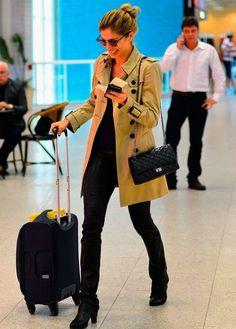 Grazi Massafera look aeroporto