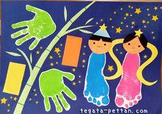 Tanabata, Moon Cake, Infant, Kids Rugs, How To Make, Blog, Crafts, Gross Motor, Mooncake