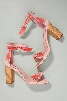 12076191074f Jeffrey Campbell Velvet Bow Heeled Sandals  Promheels Bow Heels