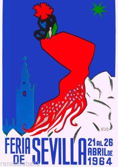Vintage Dealer or Reseller Listed Art Posters Vintage Travel Posters, Vintage Postcards, Flamenco Dancers, Europe, Vintage Advertisements, Nostalgia, Scenery, Movie Posters, Art Posters