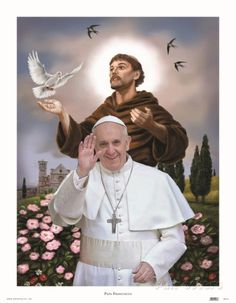 Pope Francis Art Print                                                                                                                                                                                 More