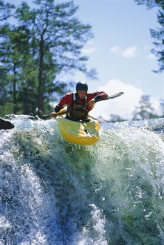 The better you get at kayaking, the more waterfalls you are going to want to paddle. Better get a good boof stroke!