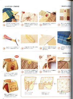 Japanese hand-sewing - Lita Z - Веб-альбомы Picasa