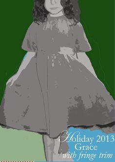Holiday 2013, Grace Dress, Ses Petites Mains tiny chic clothing
