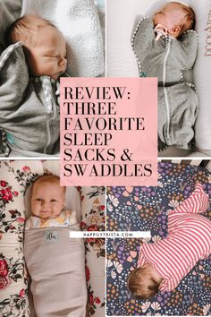 the best sleep sacks for baby
