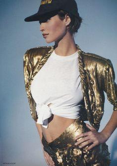 So 90's- Christy Turlington