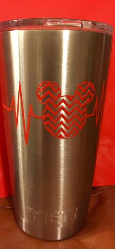 A personal favorite from my Etsy shop https://www.etsy.com/listing/270723466/mickey-chevron-heartbeat-yeti-rambler