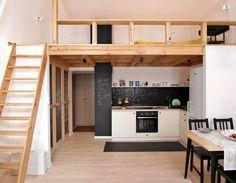 Mieszkanie: jej wysokość antresola - zdjęcie