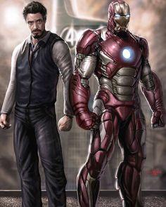 Tony Stark is Iron Man. Ms Marvel, Marvel Dc Comics, Marvel Heroes, Captain Marvel, Iron Man Avengers, Marvel Avengers, Avengers Series, Iron Man Pictures, Iron Man Hd Images