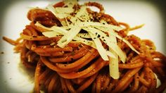 Spaghetti napoli Tasty, Yummy Food, Spaghetti, Concept, Cooking, Healthy, Ethnic Recipes, Recipes