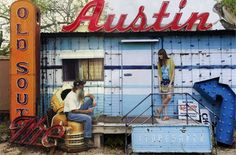 Austin photo opp! Will need to take some fabulous pictures in my fabulous weekend outfits.