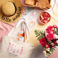 Host a Perfectly Pink Picnic! Pack a few picnic-friendly wine glasses from GoVino, a bottle of Dry Rosé and a fresh fruit salad in your Main & Vine tote bag – and don't forget the throw blanket! Enter codes from NEW Dry Rosé bottles at www.mvuncork.com for a chance to win your own picnic accessories, including a Main & Vine tote bag, sun hat, Rosé GoVino glasses, and flowers from @1800flowers. No purchase necessary. Official rules: https://uncork.mainandvinewine.com/en-us/Rules