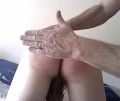 Once Dad decides I deserve a spanking, I know I'll be feeling his bare hand against my bare bottom. Every time.