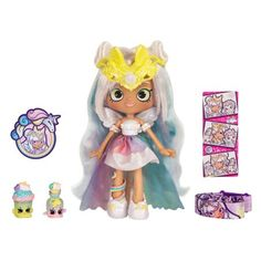An Ongoing Guide to Shoppies Dolls Shoppies Dolls, Shopkins And Shoppies, Doll Toys, Barbie Dolls, Barbie Skipper, Shopkins Season 9, Toys For Girls, Kids Toys, Shopkins Wild Style