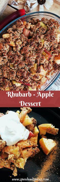 Rhubarb Apple Dessert