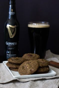 Guinness Double Chocolate Cookies