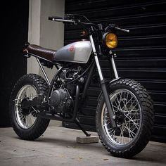 @benditamacchina. 125 cc's of Yamaha
