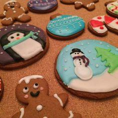 Biscuit au pain d'épice de Noël- Christmas Cookies !