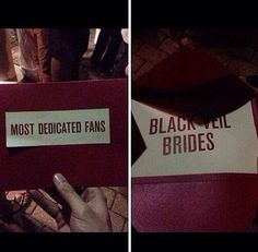 HELL YAWS!!! I love how Andy have the award to an actual fan <3 Alternative Press Muisic Awards 7/21/2014