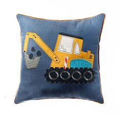iHappy Funny Excavator Children Soft Cotton Throw Pillow Square Cushion Christmas Gift iHappy http://www.amazon.com/dp/B00PQ7YXV4/ref=cm_sw_r_pi_dp_9dhCvb1GCEWM4
