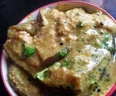 bangla shorshe doi begun bengali recipe combines fried eggplants simmered in a deliciously creamy mustard yogurt gravy doi begun with posto shorshe is real good ccuart Image collections