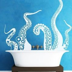 Octopus-Tentacle-Wall-Decal-Inspiration-Sea-Monster-Squid-Room-Vinyl-Mural-Decor