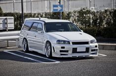 Nissan Stagea with an conversion – impressive On dream , thing , car , cars , car tips I love everything from old-school cars to whatever the latest muscle or luxury vehicles are. Skyline Gtr, Nissan Skyline, Gtr R34, Nissan R34, Japanese Domestic Market, Nissan Infiniti, Jdm Cars, Tuner Cars, Amazing Cars