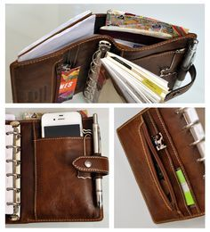 filofax-malden-pocket5 This is gorgeous! ~ I love that large back compartment, like a wallet :)