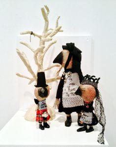 "Julie Arkell from ""Dark Tales"" a Llantarnam Grange Arts Centre touring exhibition"