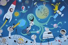 Outer Space Print by nilaayeshop on Etsy