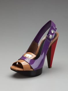 Patent Slingback Sandal by Marni on Gilt.com