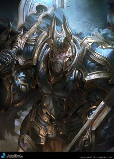 Artist: Justice Wong aka justicewong8701 - Title: Iron Ore King reg - Card: Tough Old Knight Bartlemy