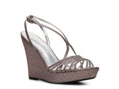 Kat. what do you think of these for me to where? There's a silver. Caparros Zest Wedge Sandal
