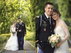 wedding of a ballet dancer and officer