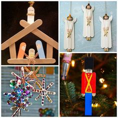 Aah…good ol' popsicle sticks. You buy the bulk box at the craft store and feel like you will have craft sticks for the rest of your life haha! Here are some adorable Christmas popsicle stick crafts/ornaments to make and use them up. They make great gifts for parents, grandparents, etc. for the holidays (and they're cheap …
