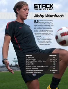 Abby Wambach Workout - STACK