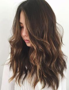 Soft Wavy Style for Spring Hairstyles 2018