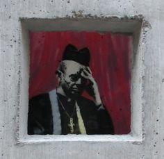 Banksy visiting NY -  Manhattan