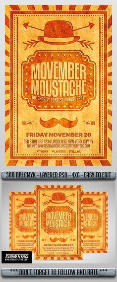 image result for movember poster poster   movember
