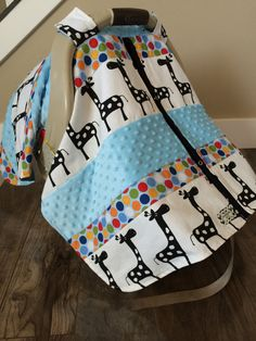 Car Seat Canopy STUNNING OOAK patchwork RTS by SooShabbyChic, $44.99