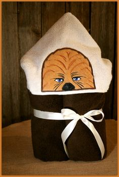 Custom hooded towels
